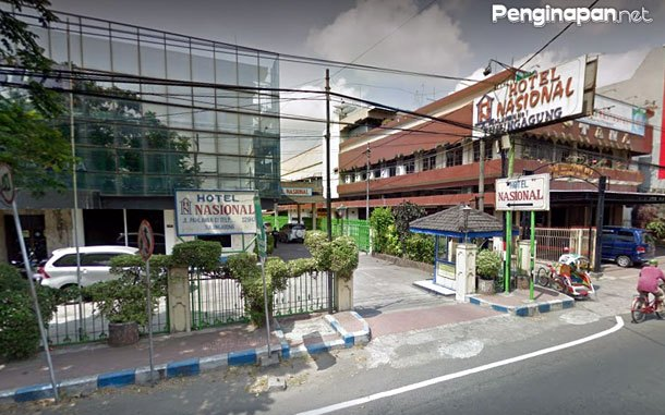 Hotel Nasional Tulungagung (via google street view)
