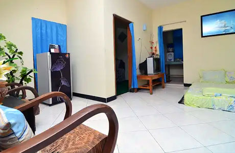 Interior Kiki Homestay (sumber: traveloka)