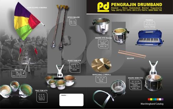 jual peralatan musik drumband