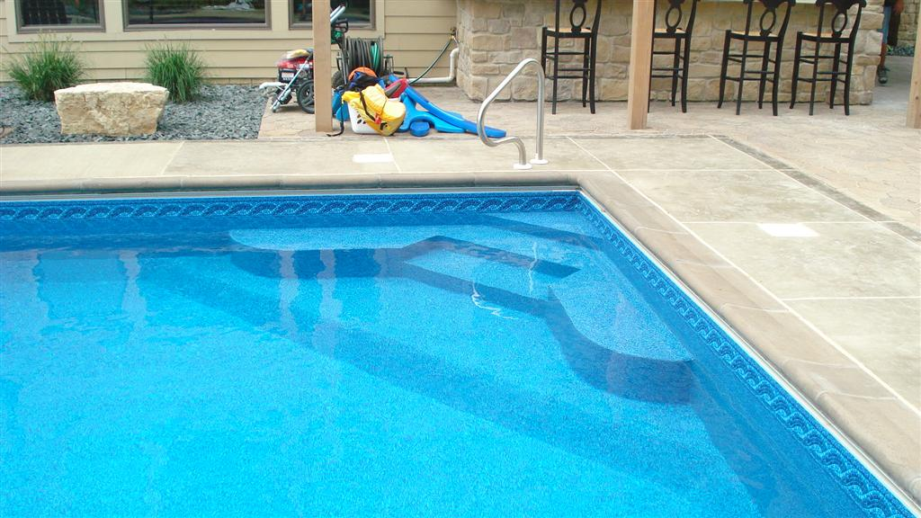 Jacuzzi Pool Ladder Swimming Pool Steps & Ladders - Pool Option & Upgrade