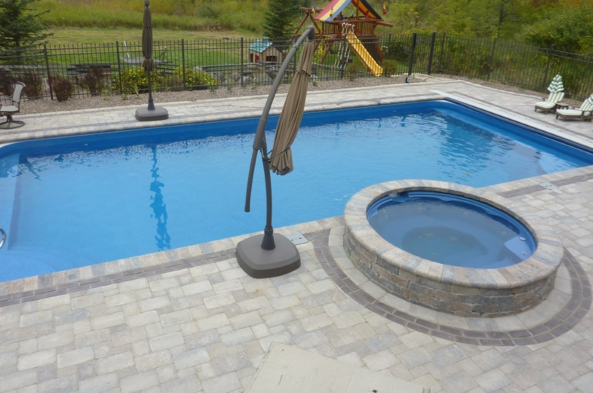 Jacuzzi Pool Covers Spill Over Spas Penguin Pools Offers Different Types Of