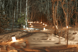 Candlelight Ski at Peninsula State Park