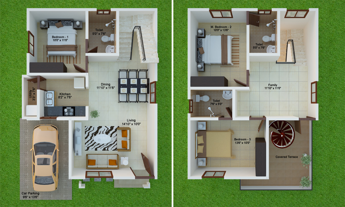 Enchanting 30x40 duplex house plans 3d gallery best image engine plans furthermore 30 x 30 house plans on 40x40 open floor plans jameslax Image collections