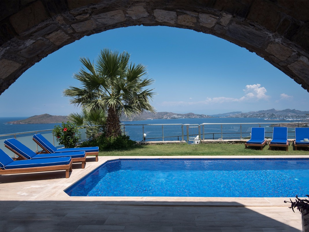 Luxury Holiday Villa With Pool Luxury Holiday Villas All Private Pools Bodrum Peninsula Turkey