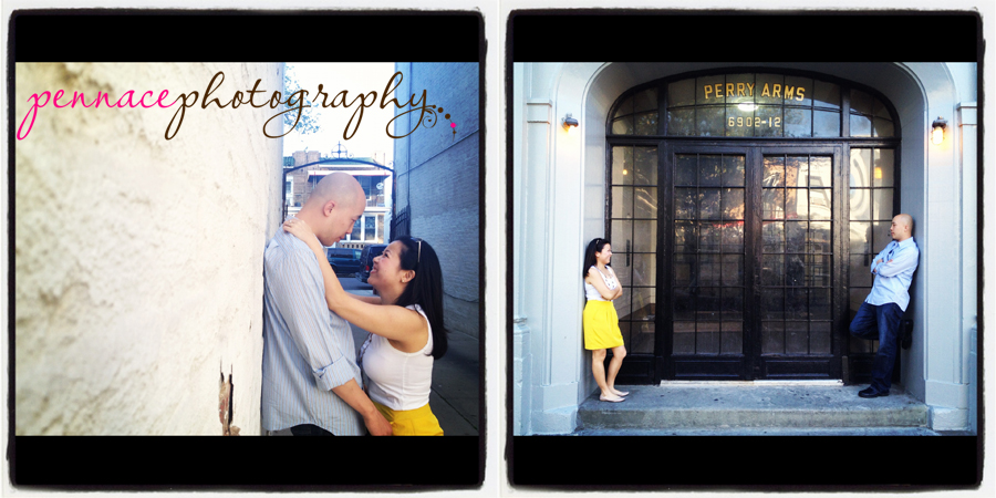 Engagement Photos Shot with iPhone