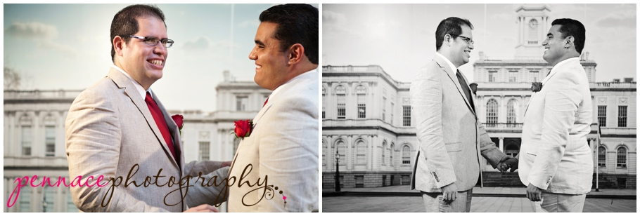 City Hall Wedding Photographer Laura Pennace