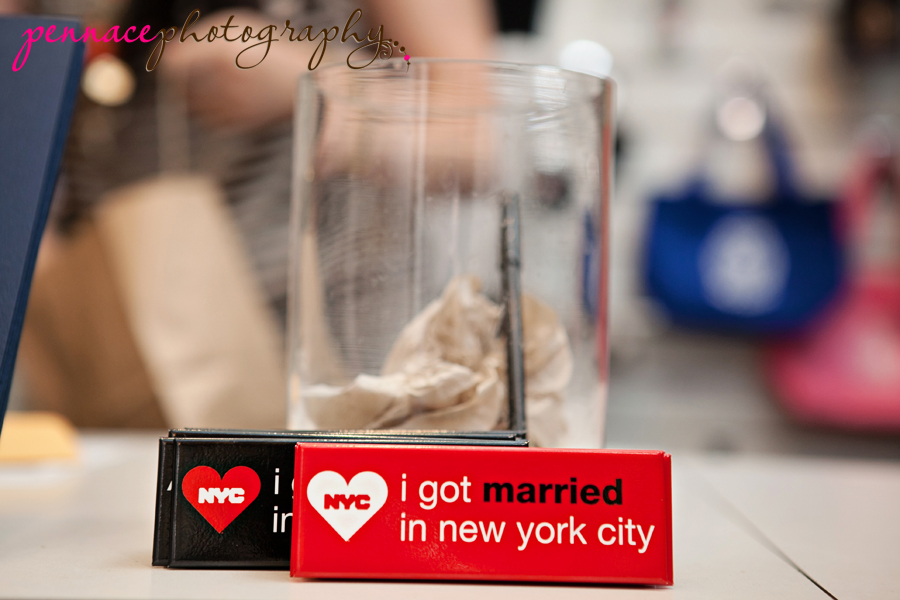 I got married in New York City
