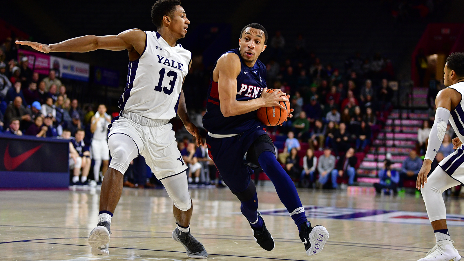 Tony Lavelli Yale Basketball Men S Basketball Ushers In Ivy Tournament Era With Archrival