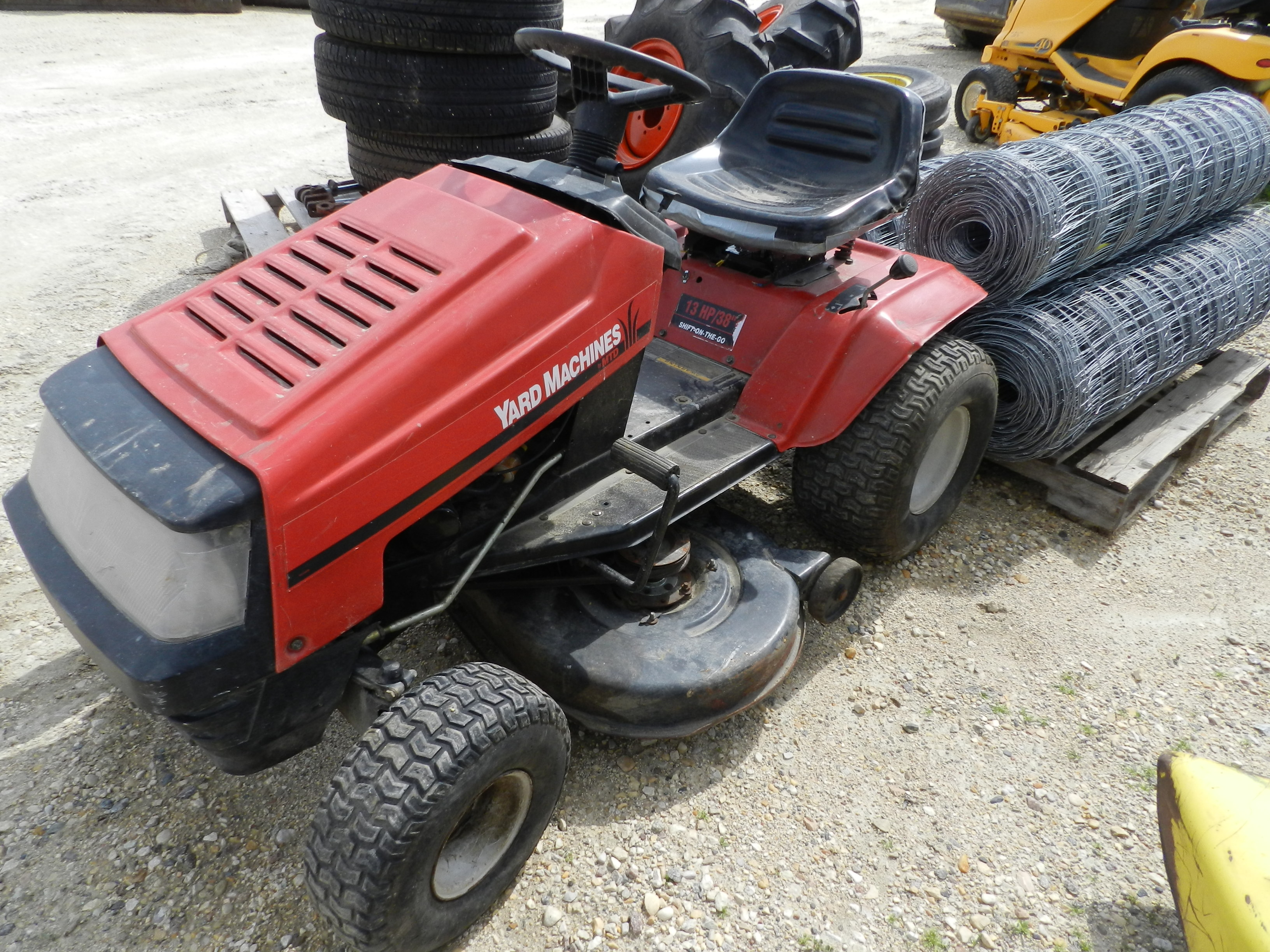 Yard Machine Lawn Mower Mtd Yard Machines Lawn Tractor Pictures To Pin On