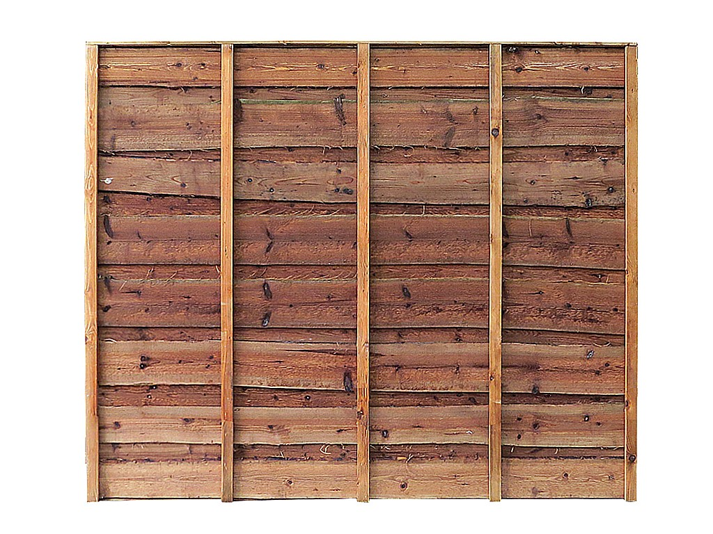 Megawood Jobs Traditional Garden Fence Panels Super Heavy Duty Waney Lap