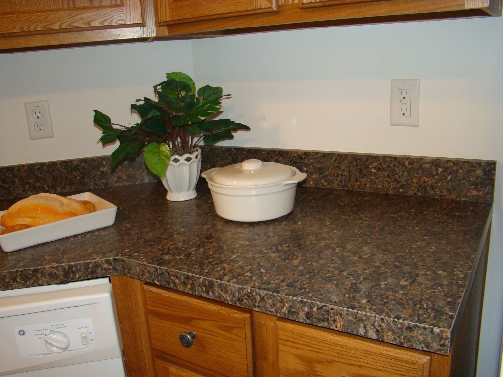Laminate Kitchen Backsplash Self Edge Countertops Pennwest Homes