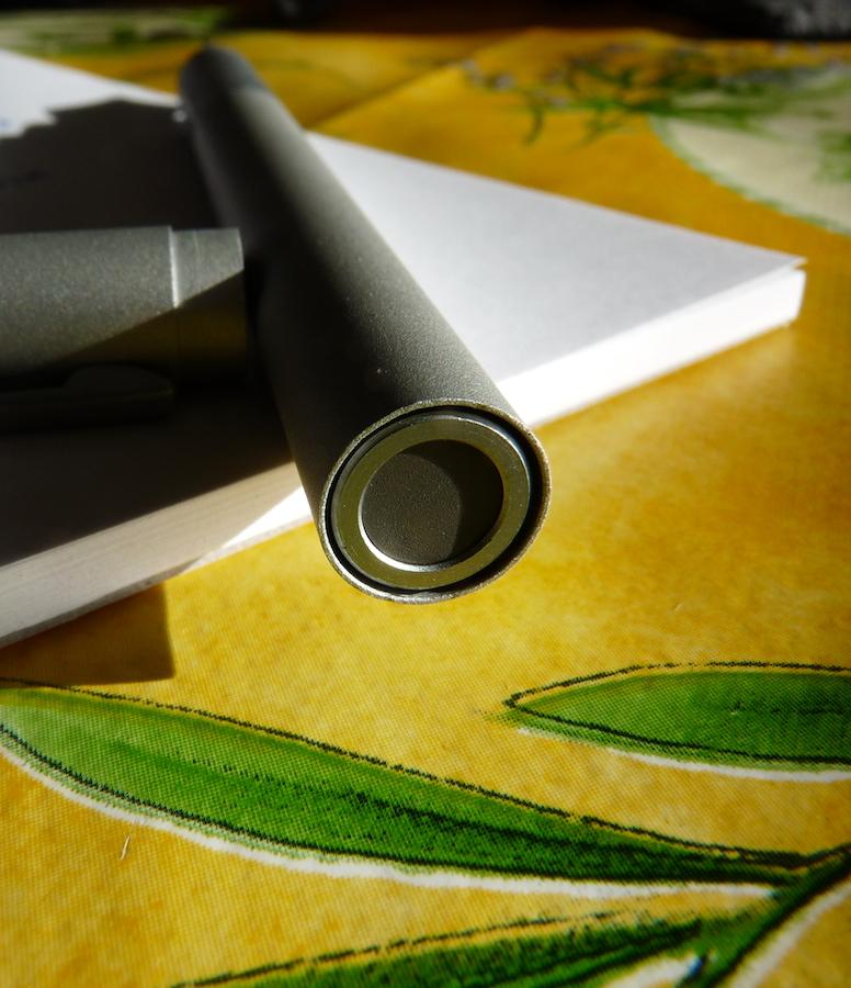 MUJI Fountain Pen end