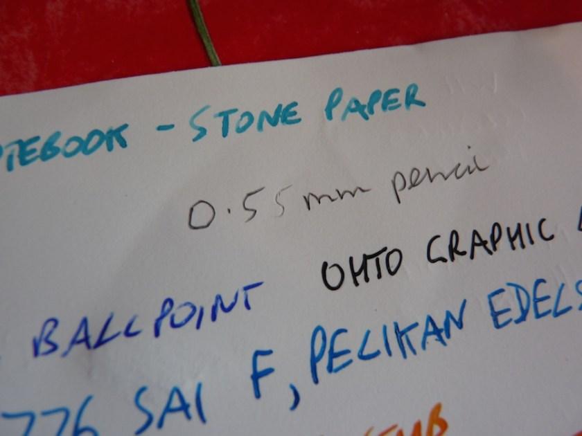 Da Vinci Notebook stone paper soft