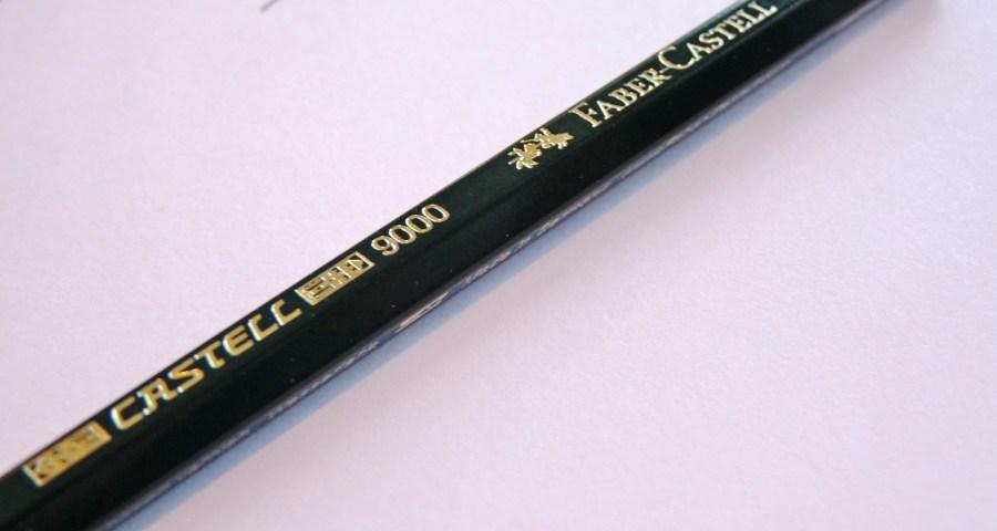 Faber-Castell 9000 pencil logo