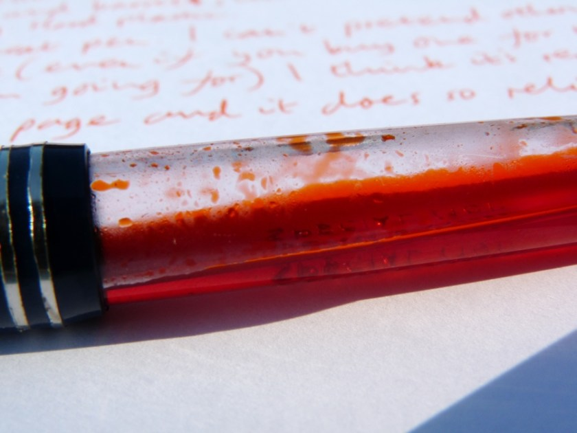 Serwex 101 F fountain pen full of ink