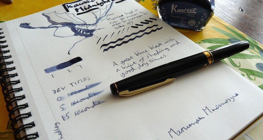 Kaweco Midnight Blue ink review