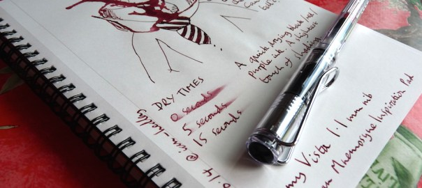 Private Reserve Black Cherry ink review