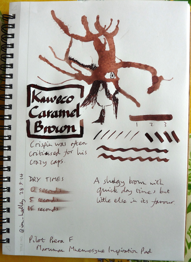Kaweco Caramel Brown Inkling