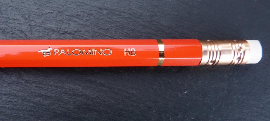 Palomino HB pencil branding