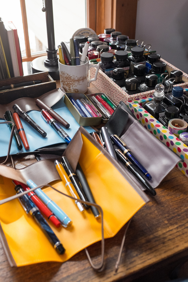 Crikey that's a lot of pens and ink