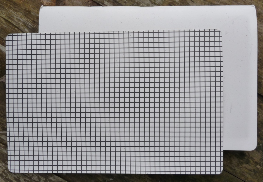 Furrow Book grid guideline insert