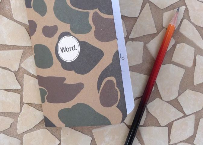Word Notebook front cover