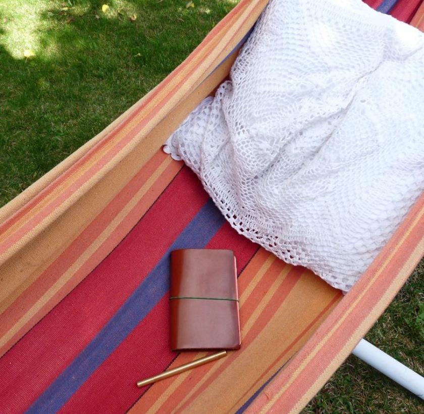 Paper Republic Grand Voyageur in the hammock