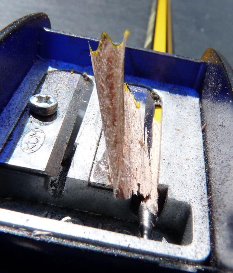 Staedtler Noris pencil sharpening
