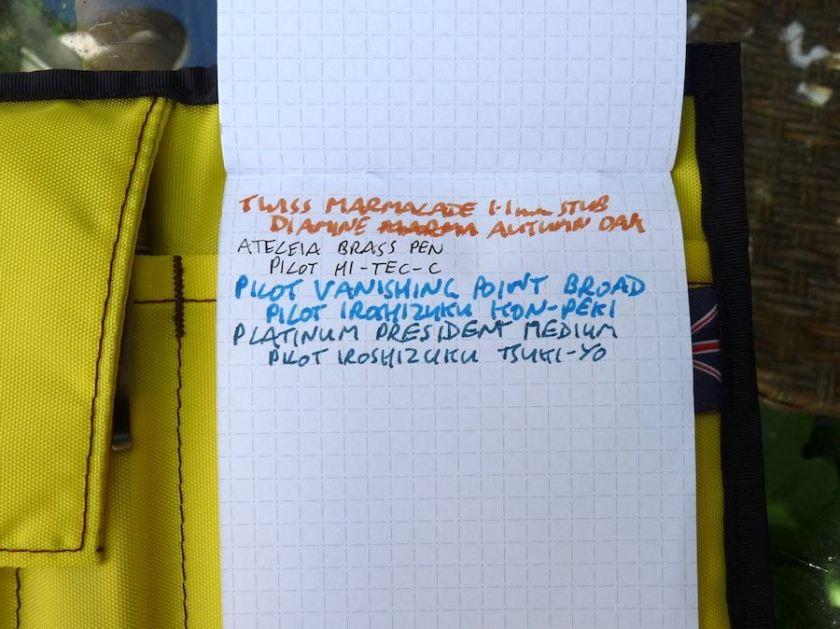 Nock Co Hightower notepad