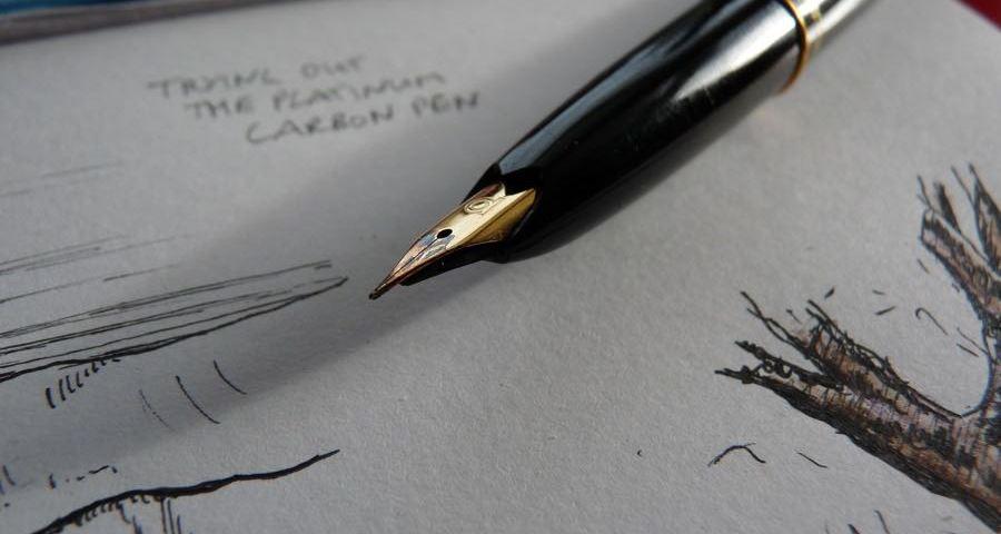 Platinum Carbon Pen review