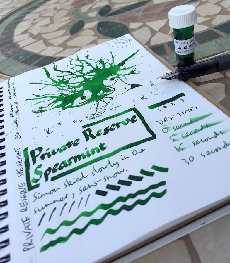 Private Reserve Spearmint Ink Review