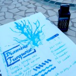 Diamine Turquoise ink review