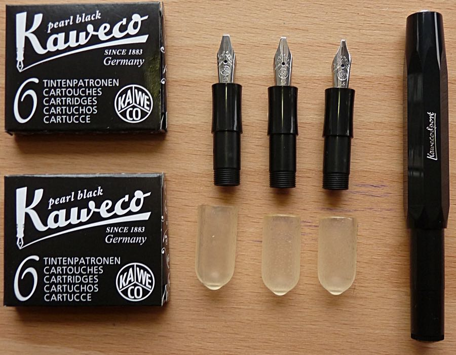 Kaweco Calligraphy Set Review And Giveaway Pens Paper