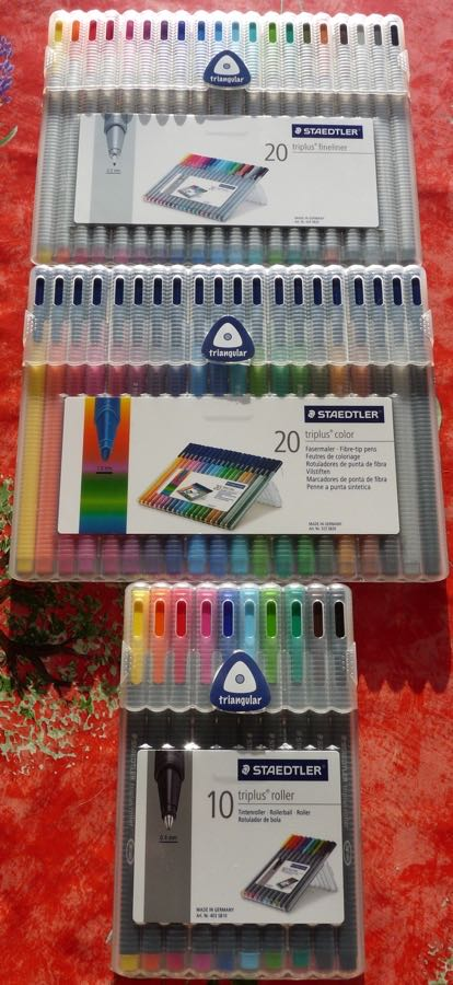 Staedtler Triplus all packed up ready to go