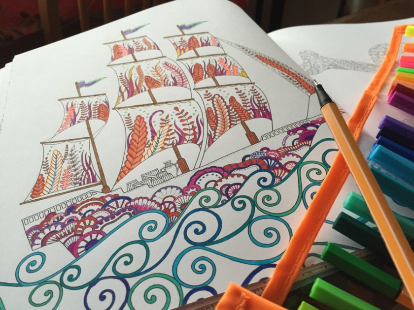 Stabilo Point 88 FIneliner colouring in