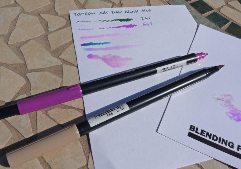Tombow ABT Dual Brush Pen capped
