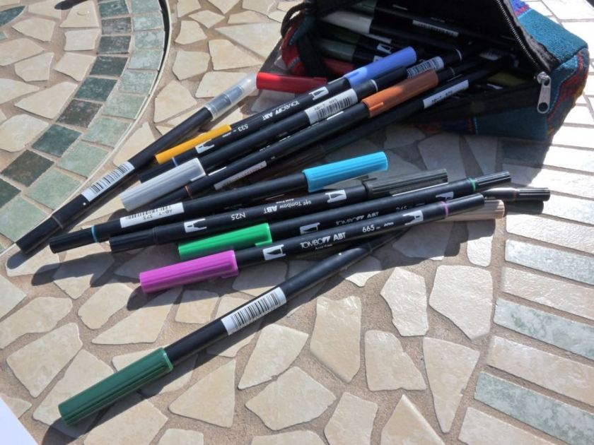 Tombow ABT Dual Brush Pen collection