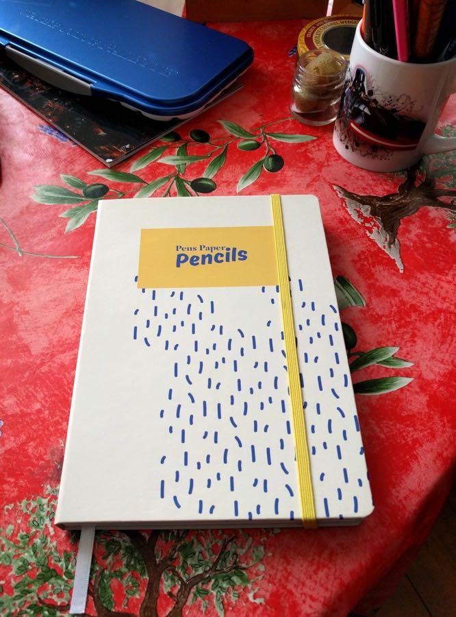 Bookblock notebook