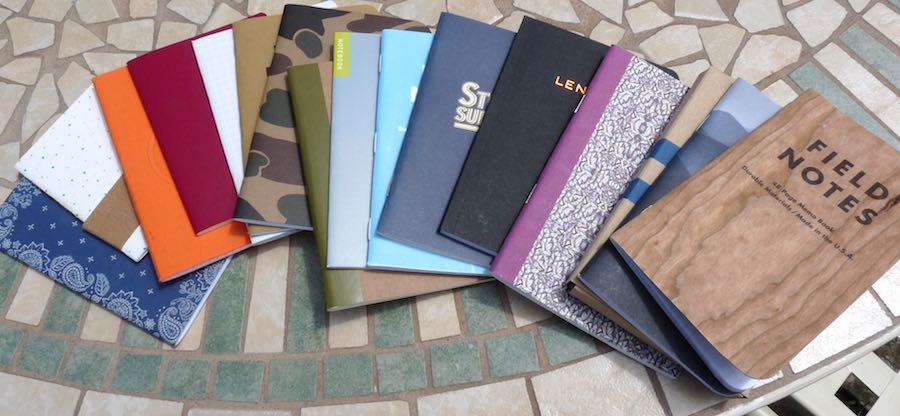 Pocket Notebook giveaway spread out