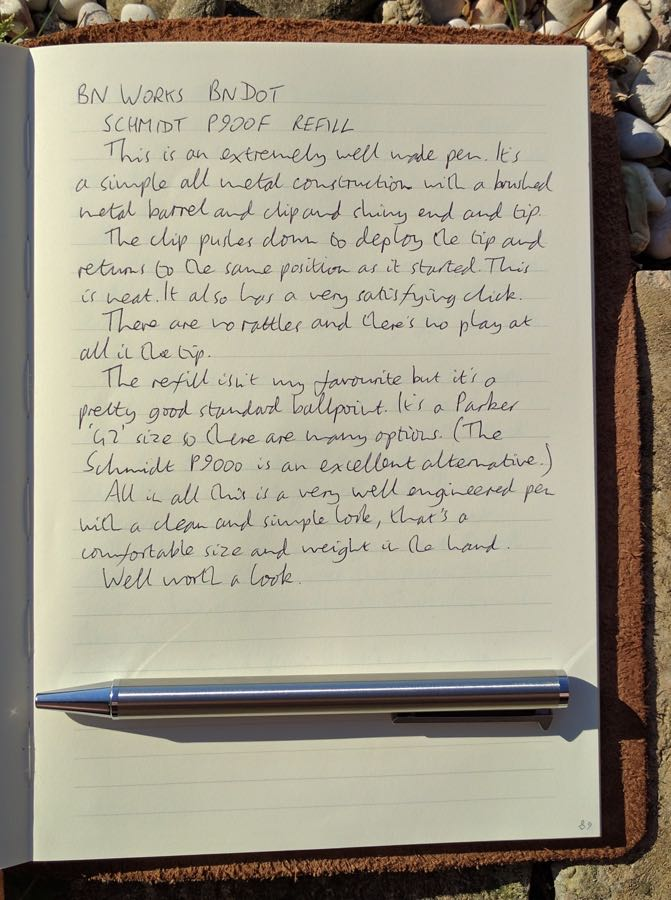 bn-works-bndot-handwritten-review
