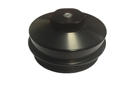 64L Billet Fuel Filter Cap Frame Mounted \u2013 Pensacola Fuel Injection
