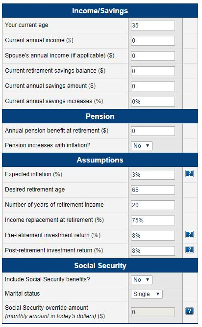 Are my current retirement savings sufficient?