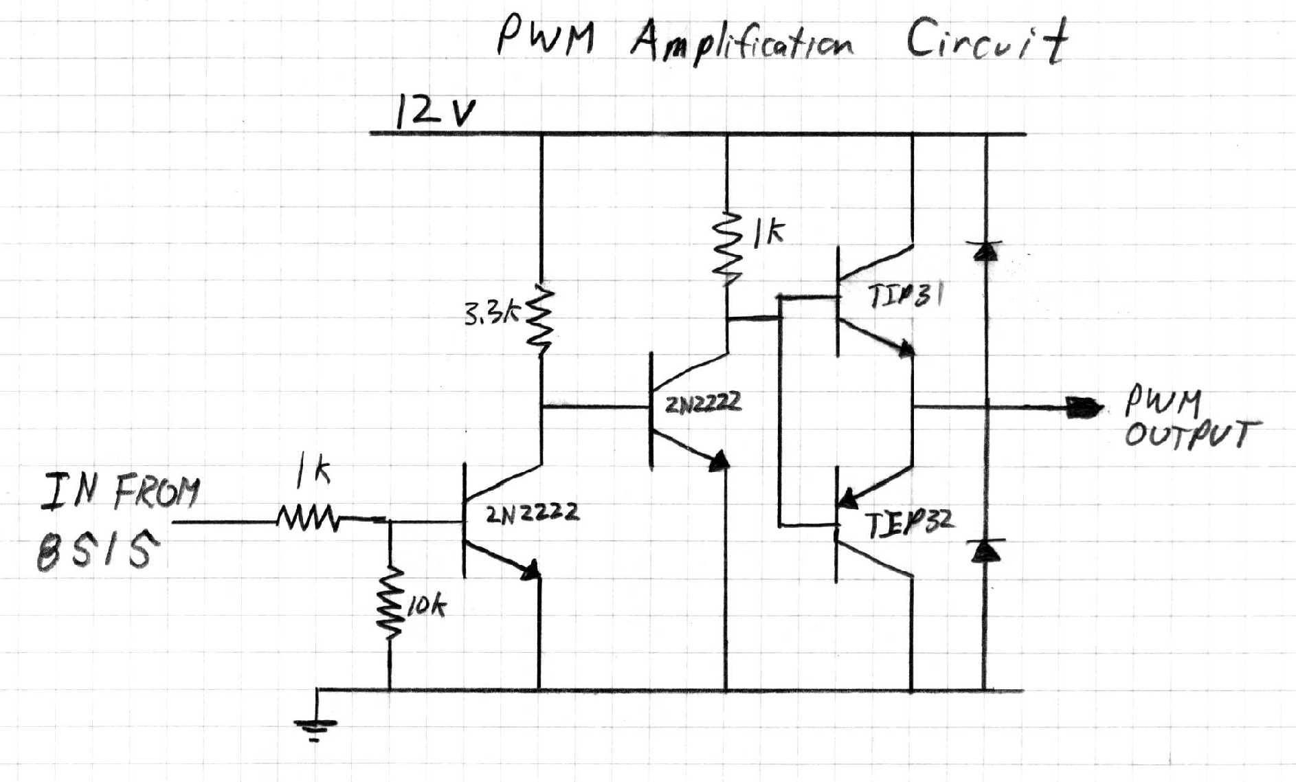 pwm circuit schematic