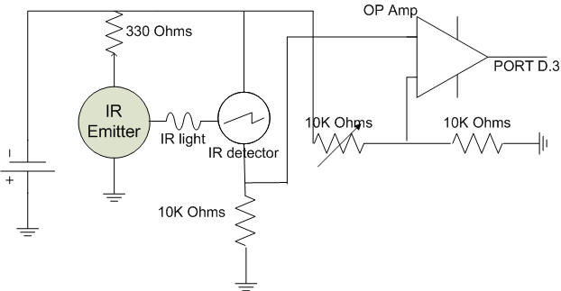 circuit diagram smoke detector