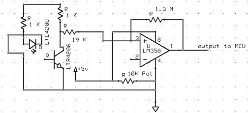 the schematic of the final circuit is shown below
