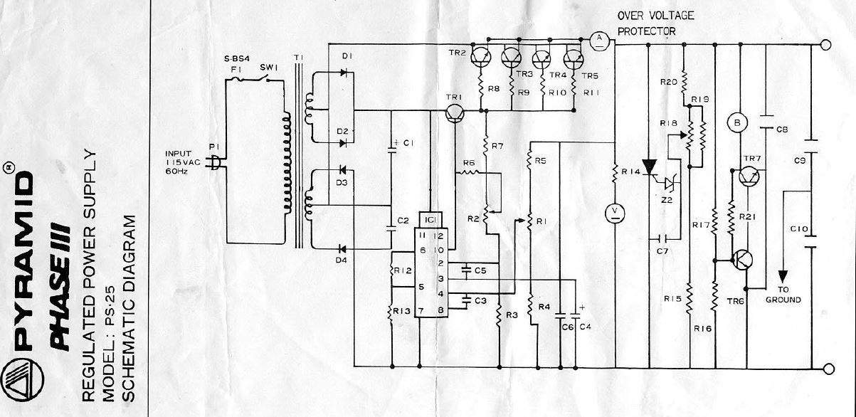 circuit parts refer to the schematic diagram