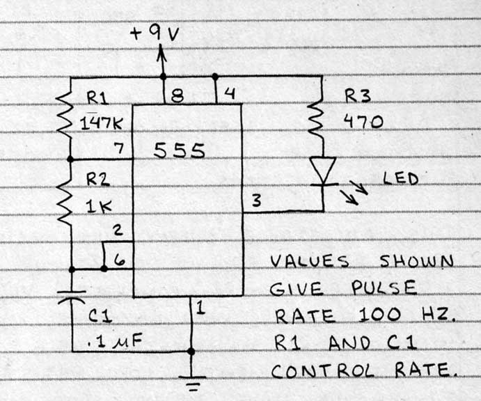 led timing light circuit via andrew davidhazy