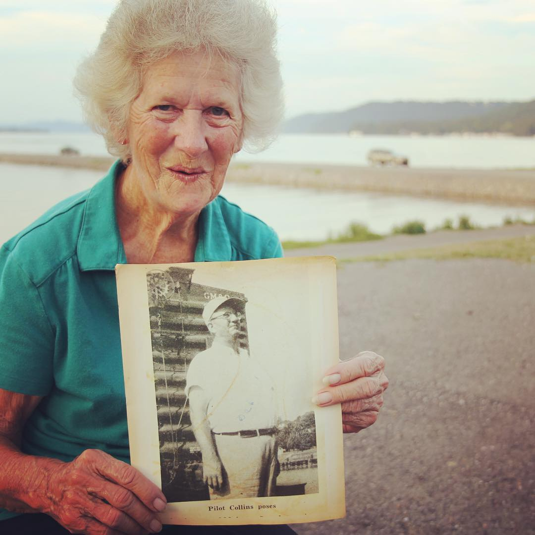 Dorris Turner talked to us about her daddy who was a captain on the Guntersville and Huntsville steamboats hauling railroad cars 22 miles to Hobbs Island