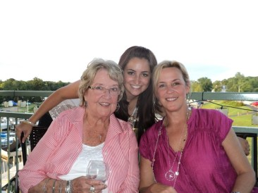 Mom, Grandma and I