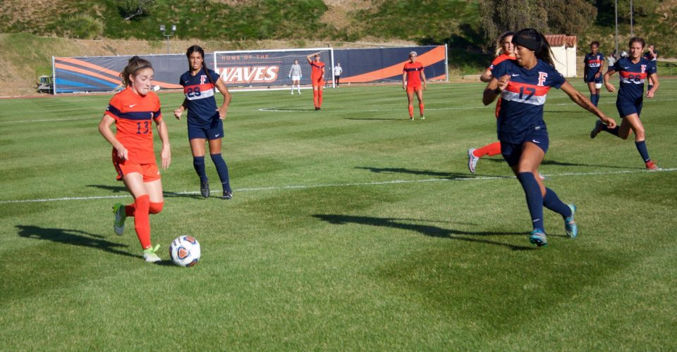 Women\u0027s Soccer Shuts Out Cal State Fullerton in NCAA First Round, 1